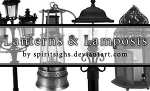Lanterns and Lightposts