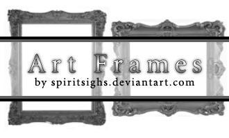 Art Frames by spiritsighs-stock