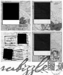 4 Gimp Polaroid Border Brushes
