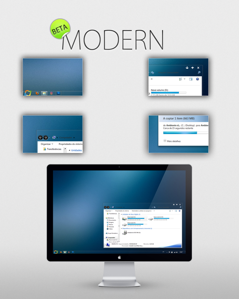 modern beta by pedrocasoa