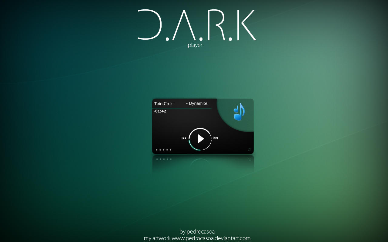 dark player CAD THEME by pedrocasoa