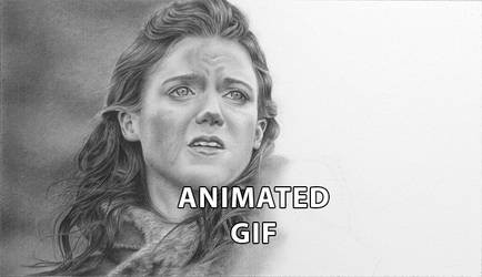Ygritte - Animated GIF of drawing progression