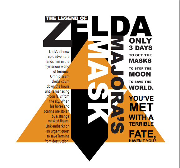 type and hierarchy - Zelda majora's mask by baberscamille