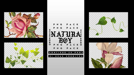 Natura Boy Pack . Png by XCXPEDRO