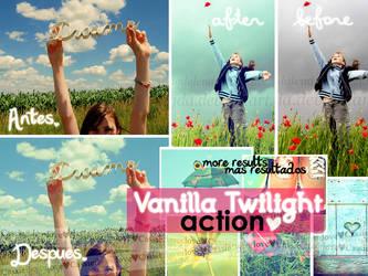 Vanilla Twilight Action by Cassie-flavor-love