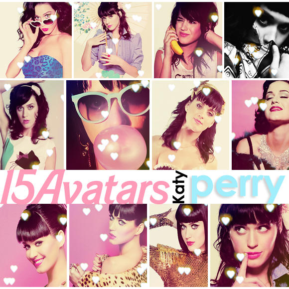 Katy avatars by Cassie-flavor-love