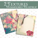 Textures Hummingbird Heartbeat