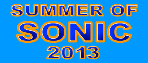 Summer of Sonic 2013 by DCLeadboot