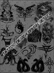 Tattoo Design Brush Set 2.0