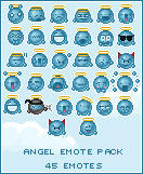Angel emote pack by JulienPradet