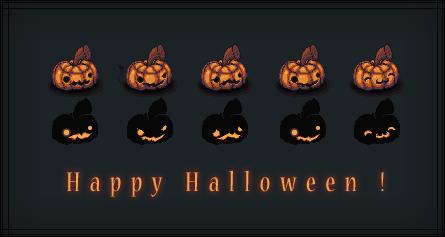 Halloween pack by JulienPradet