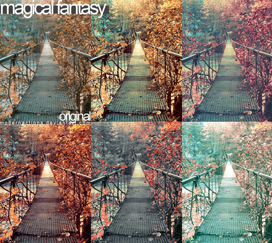 اكشن مميز للفوتوشوب Magical Fantasy