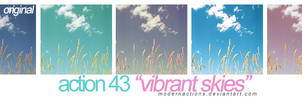 action 043 'VIBRANT SKIES'