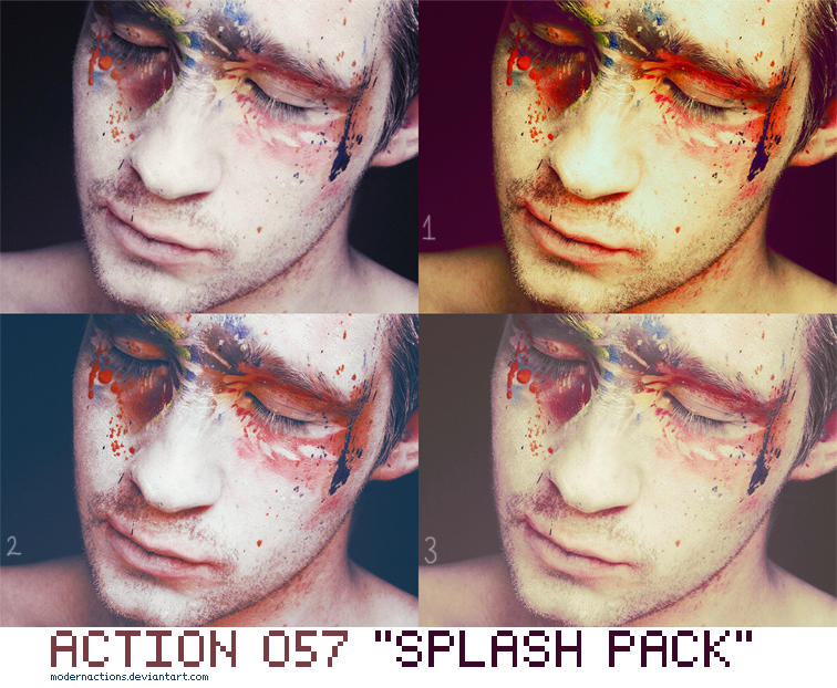 "ACTION 057 ""SPLASH PACK"" by ModernActions"