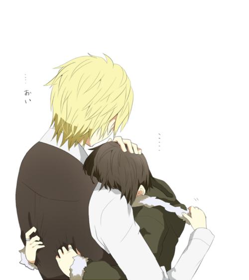 Anime Characters Hugging : The beautiful you a shizaya fanfiction by