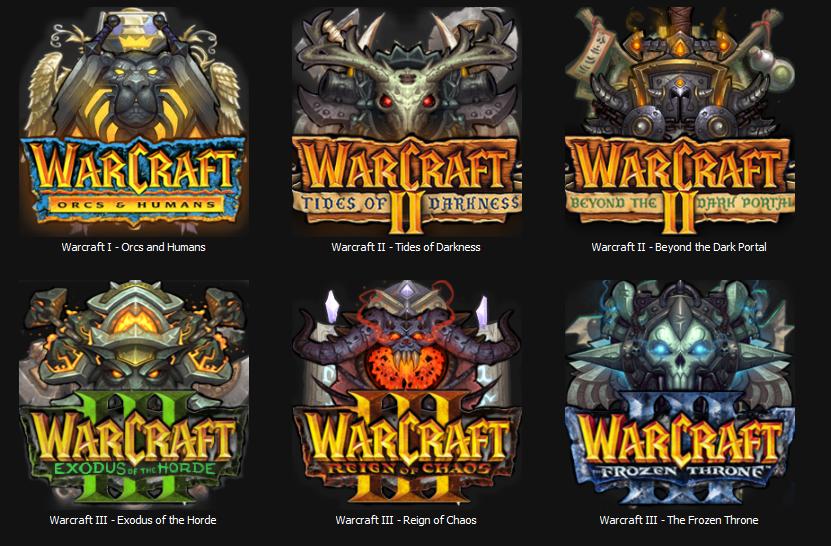 Warcraft game series