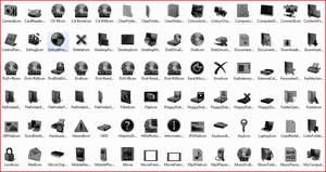 Black Vista Icons