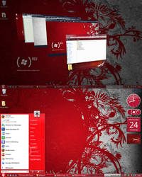Product RED Complete Theme by TheDarkenedPoet