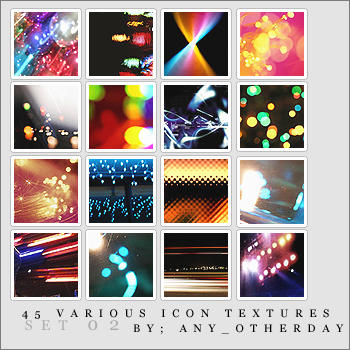 Various Icon Textures Set 02 by lostinsidethecrowd