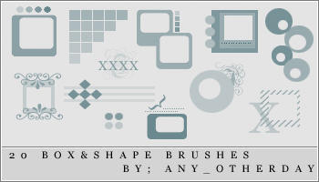 Icon Brushes by lostinsidethecrowd