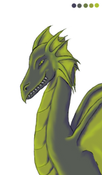 Swamp Dragon Pallet Challenge by Kenekochan01