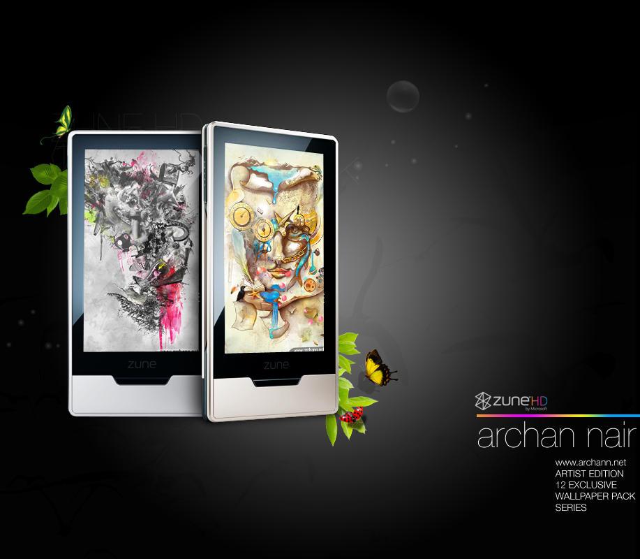 Zune HD Wallpapers by archanN