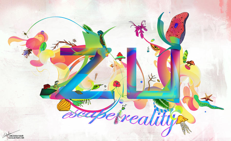 Zu - Escape Reality by archanN