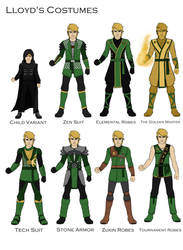 Lloyd's Costume designs by joshuad17