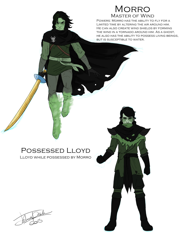Possessed Lloyd and Morro by joshuad17 on DeviantArt