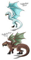 Dragons: Ice and Earth
