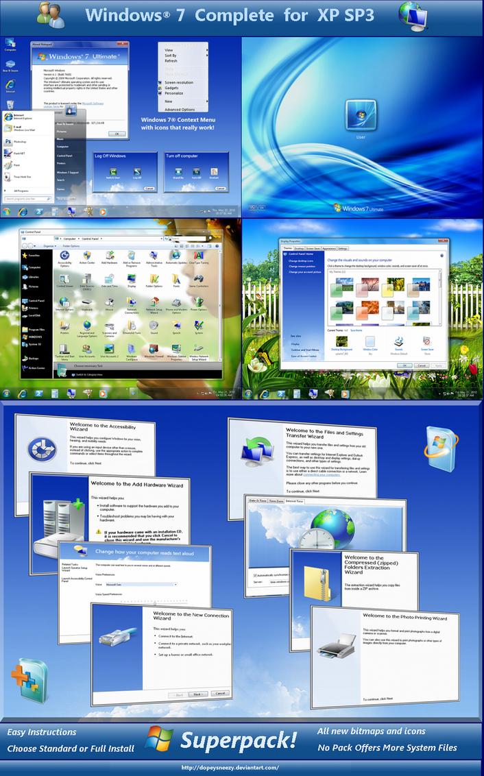 Windows 7 Complete by DopeySneezy