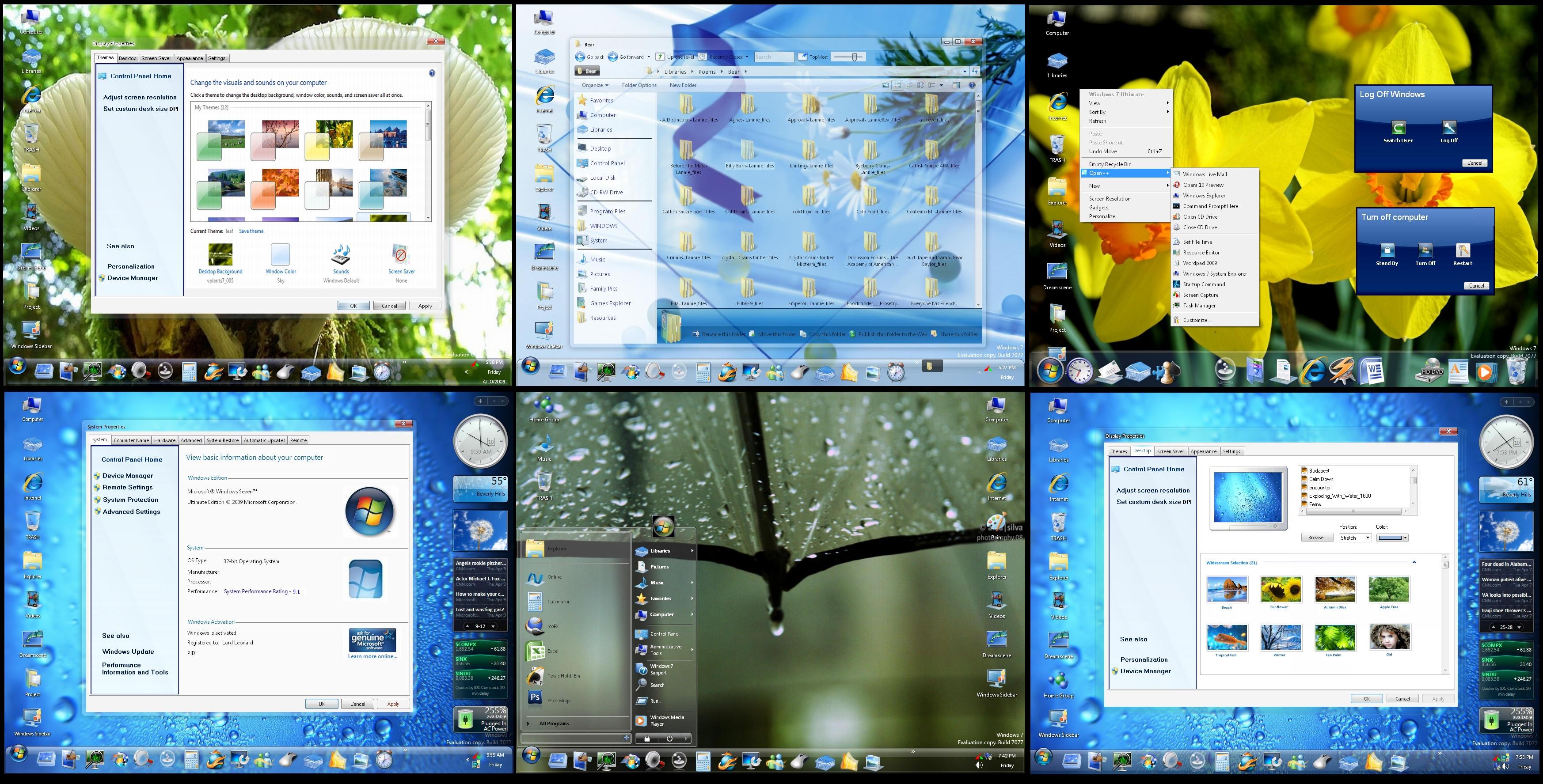 Windows 7 Classic for XP by DopeySneezy