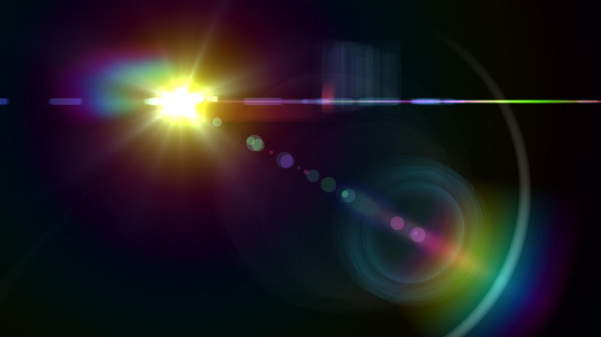 Optical Flare Transparent Optical Flares Pack of 113