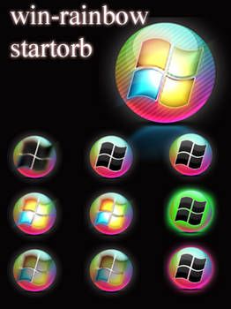 windows rainbow startorb
