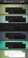 Minimal 2.0 dark (updated) by swapnil36fg