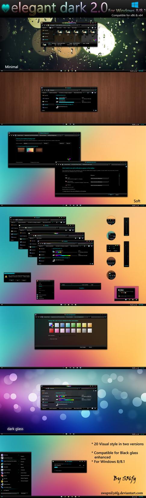 Elegant dark 2.0 by swapnil36fg