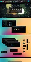Elegant dark 2.0 for windows 10 (10586)