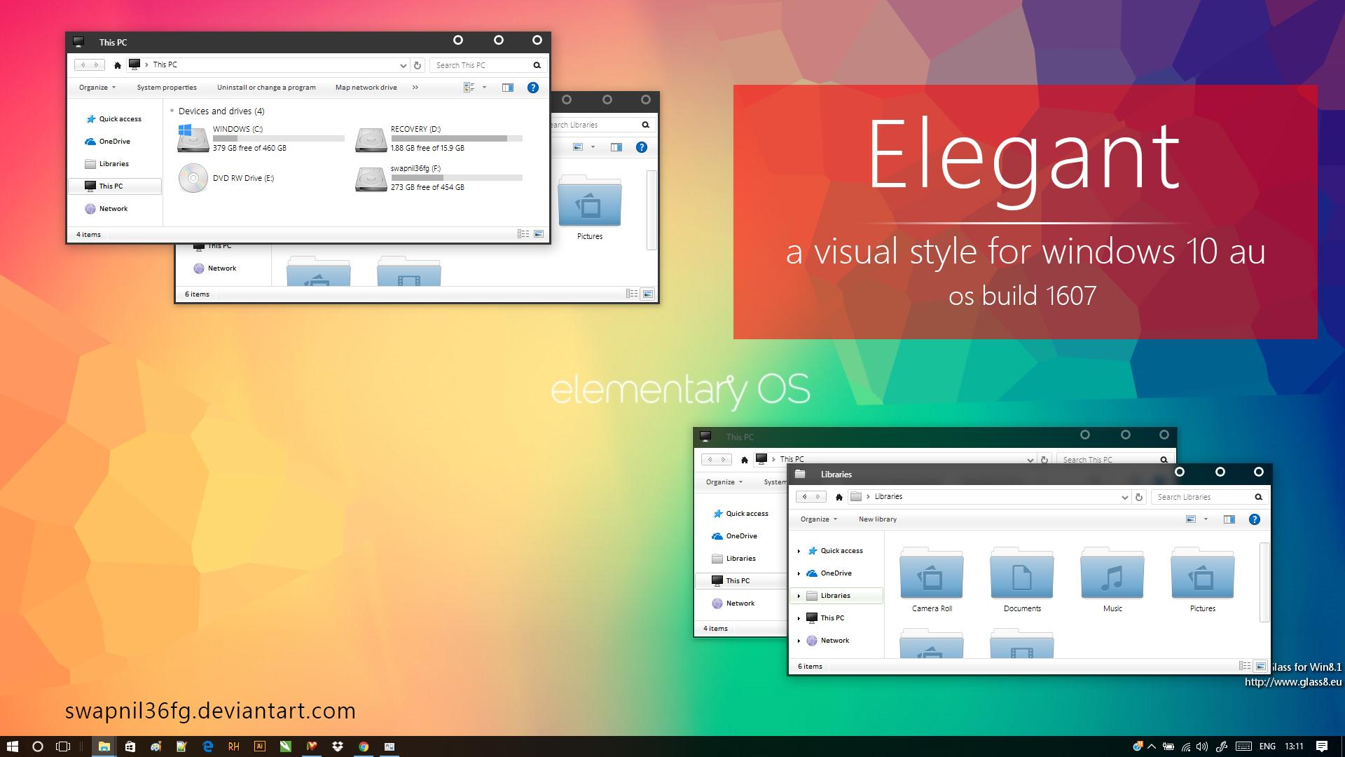 Elegant for windows 10 AU by swapnil36fg