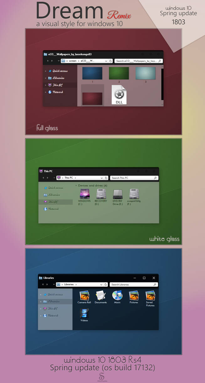 Dream remix for windows 10 1803 rs4 by swapnil36fg on DeviantArt