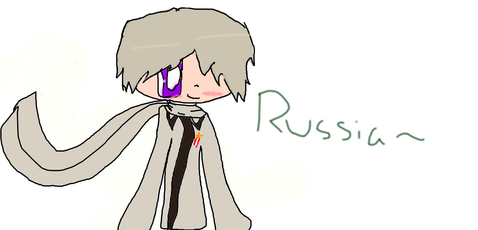 Hetalia: Russia by Ninjagomonster