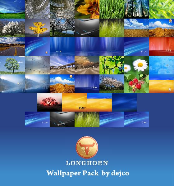 Windows Longhorn Wallpapers By Dejco