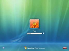 Windows Vista Logon Layouts by dejco