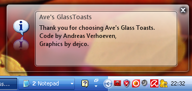 Glass for Ave's Glass Toast by dejco