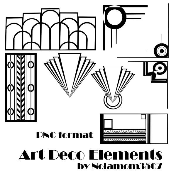Art Deco Elements By Nolamom3507 On DeviantArt
