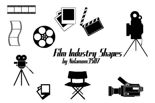 Film Industry Shapes by Nolamom3507