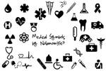 Medical Icon Shapes by Nolamom3507