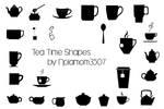 Tea Time Shapes