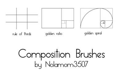 Composition Brushes by Nolamom3507 by Nolamom3507