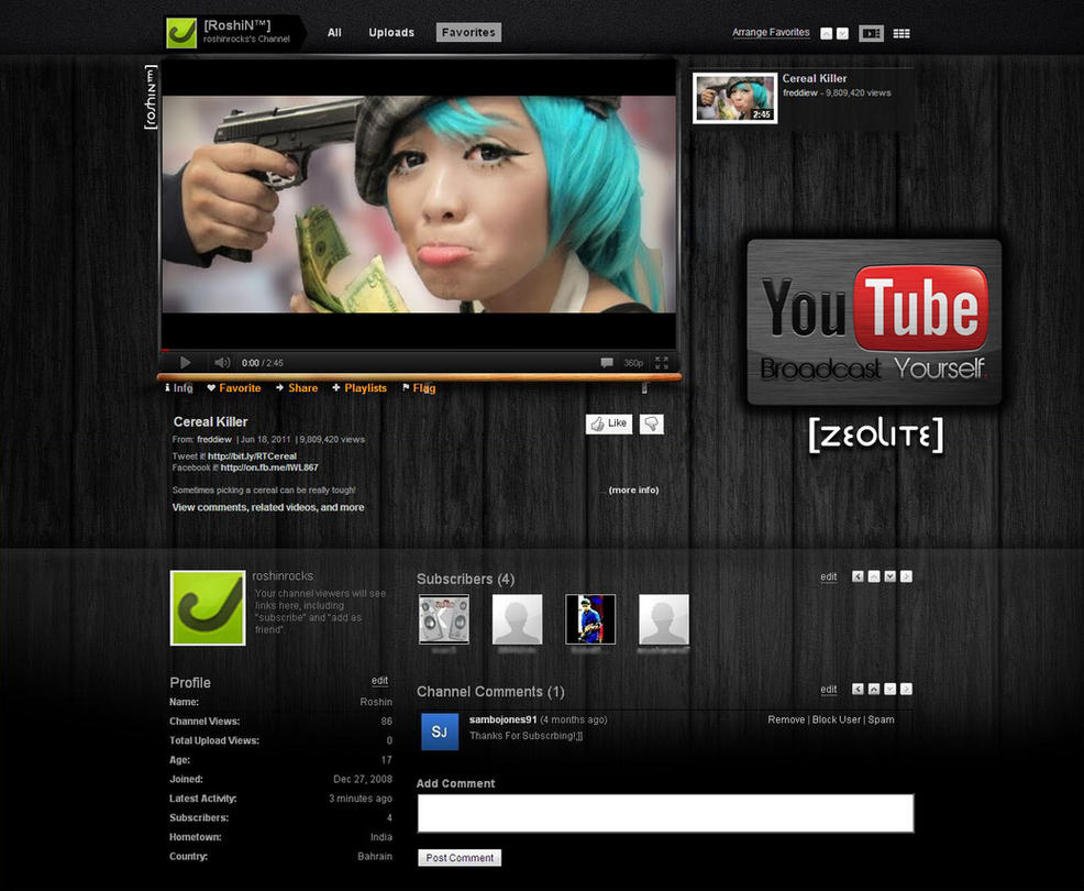 lay out youtube