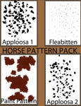 horse pattern pack